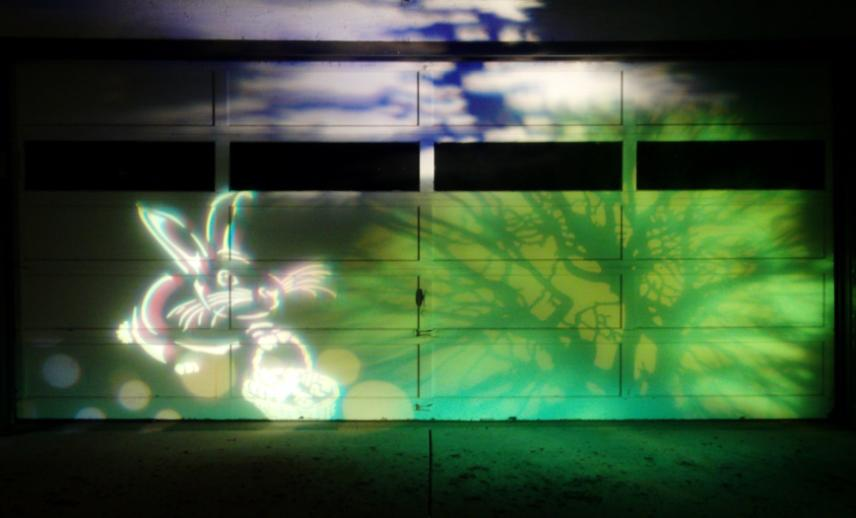 Easter 2011 Light Mural by MLRLV